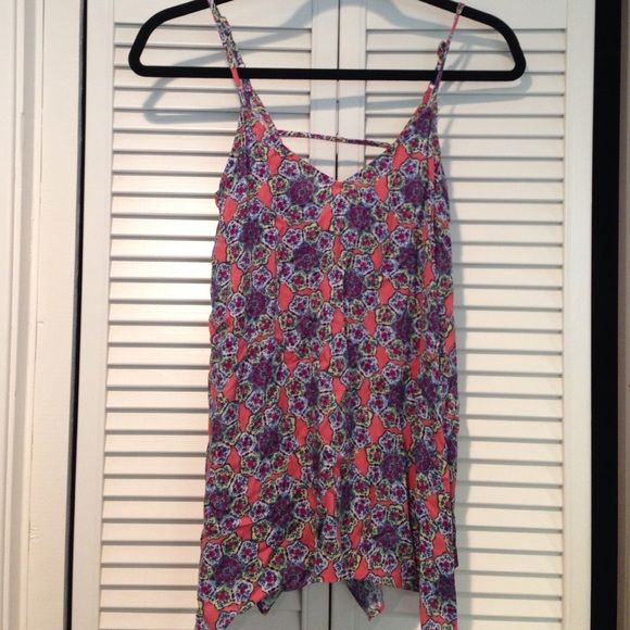 83b12ceab3 Flowy multicolor tank top Mossimo Supply Co. tank from Target. Loose, flowy  fit and soft material. Super cool multicolor kaleidoscope pattern! Never  worn.