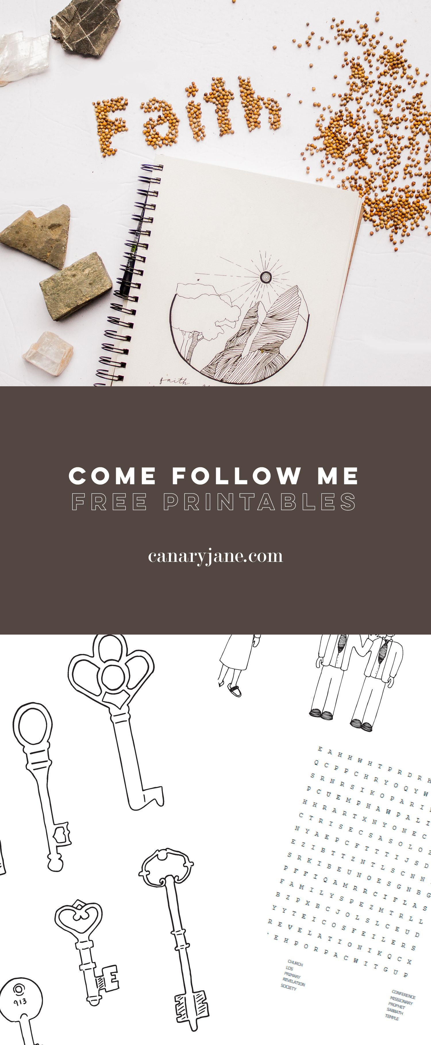 april  come follow me free printables  free printables