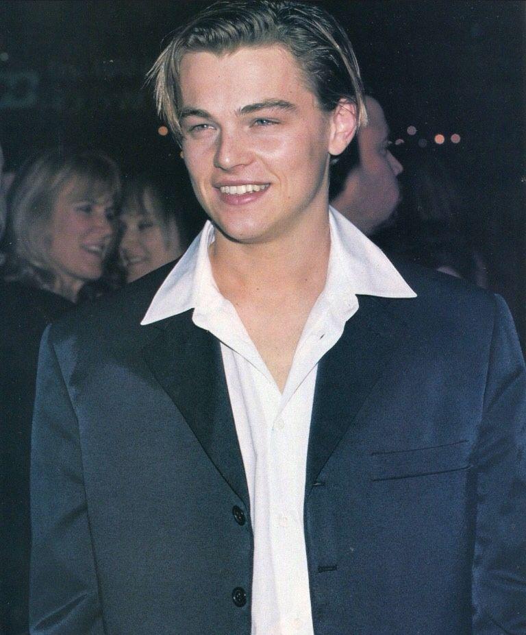 """just90s: """" Leonardo DiCaprio """""""