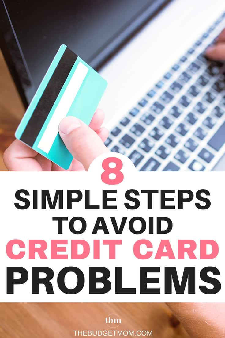 8 simple steps to avoid credit card problems best credit