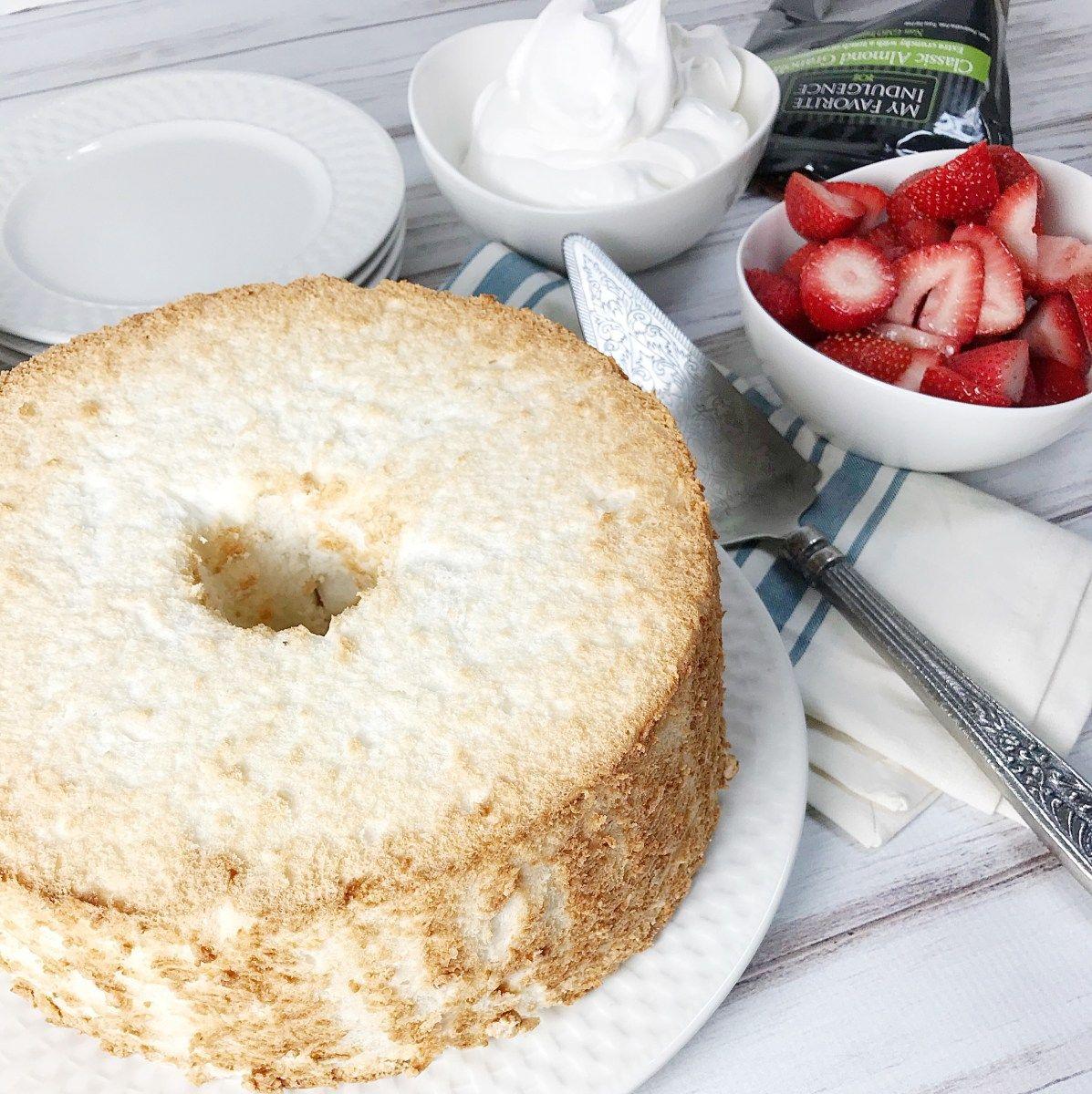 Angel food cake recipe cake recipes angel food cake