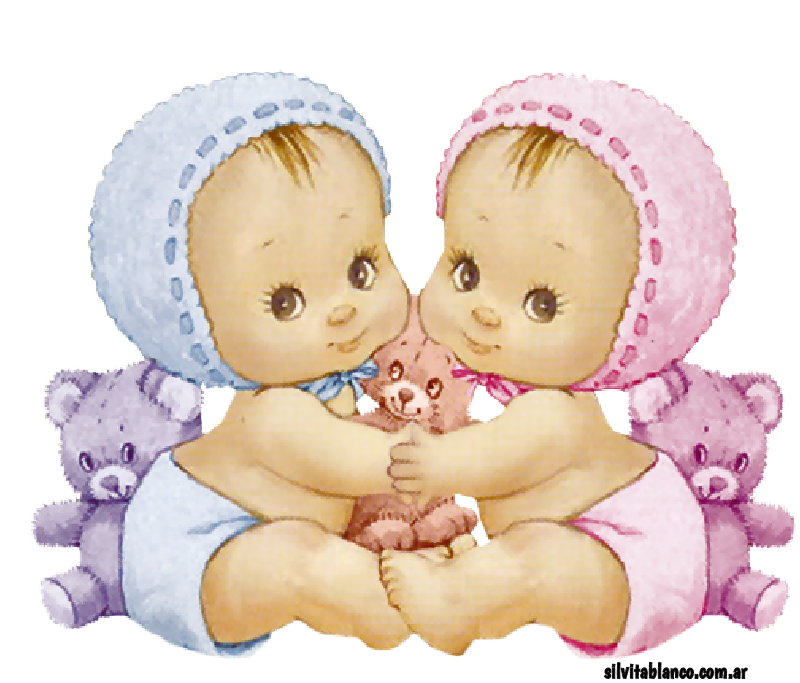 Тепла картинки, открытка близнецы