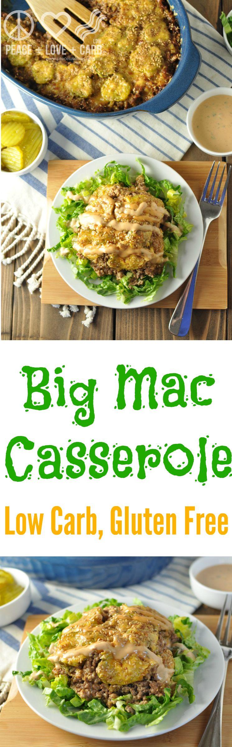 Low Carb Big Mac Casserole  Recipe   Keto Low Carb -3907