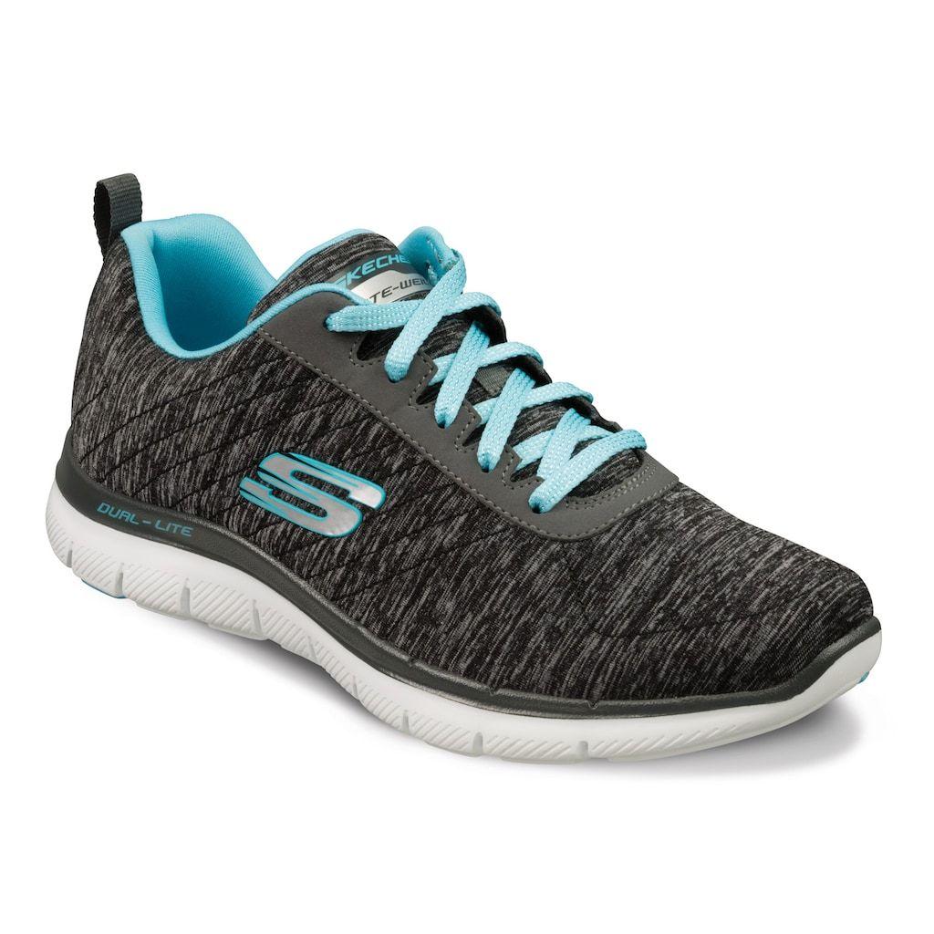 Skechers Flex Appeal 2 0 Women S Sneakers Size 10 Wide Black