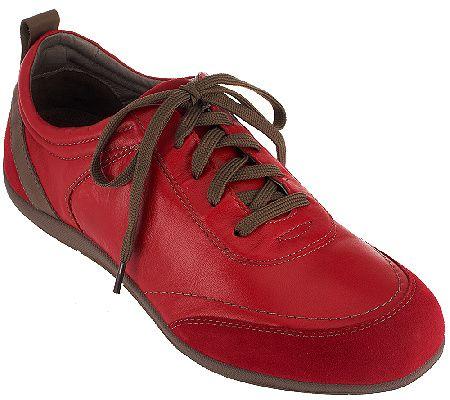 ae955721c5dc Vionic Orthotic Leather Walking Shoes - Willa - A259637 — QVC.com