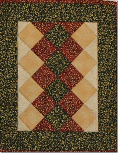 Christmas Placemat | Quilting Christmas | Pinterest