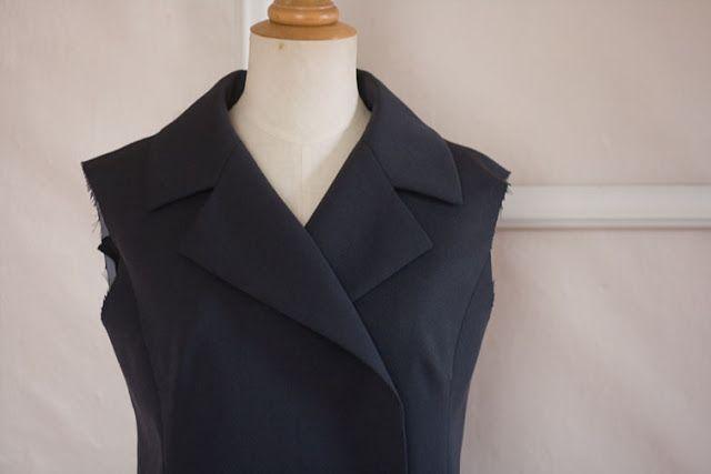 pattern ~ scissors ~ cloth: RTW Tailoring Sewalong #11 - The Collar and Lapels