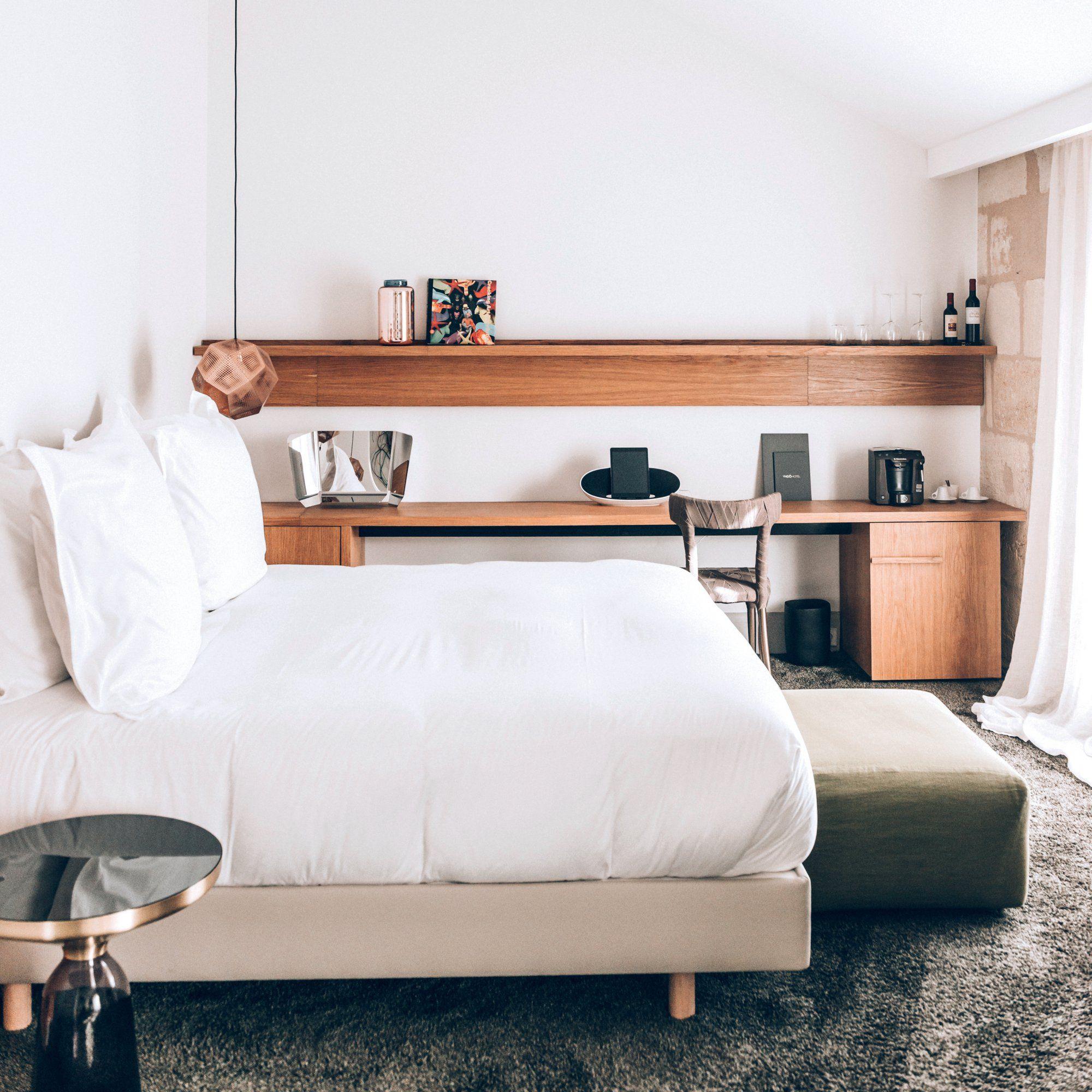 Petites chambres grandes id es amenagement petite - Amenagement bureau chambre d amis ...