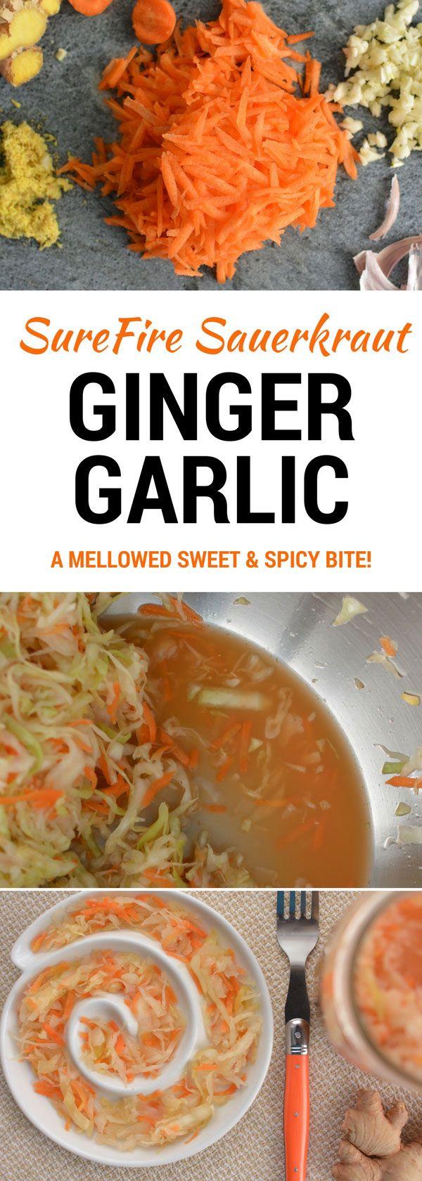 Ginger carrot sauerkraut recipe sauerkraut recipes sauerkraut preserving food forumfinder Gallery