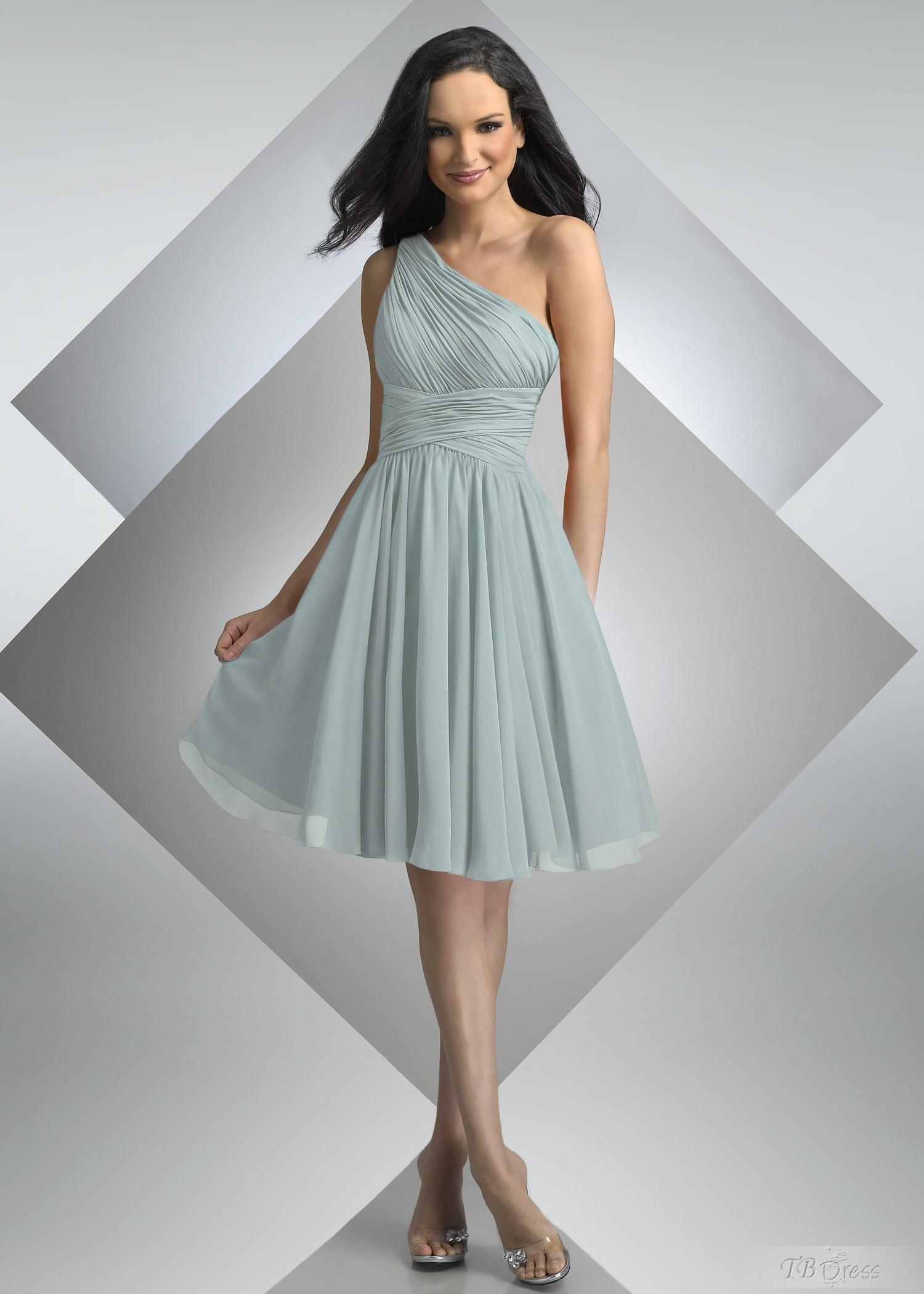 Love the oneshoulder bridesmaid dresses party ideas pinterest