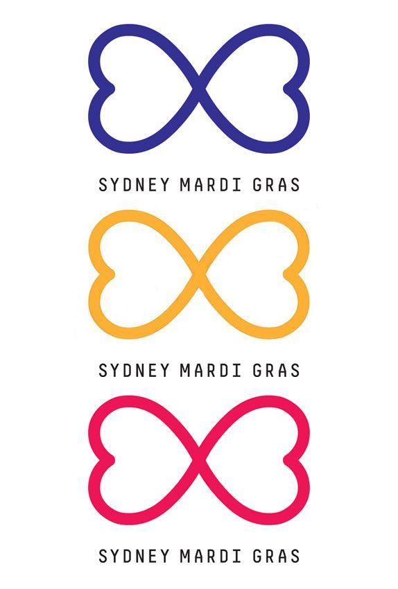 Sydney Mardi Gras 2012 Branding Pinterest Mardi Gras Logos