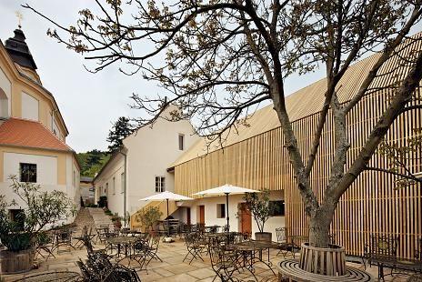 Areál Café fara v Klentnici na južnej Morave