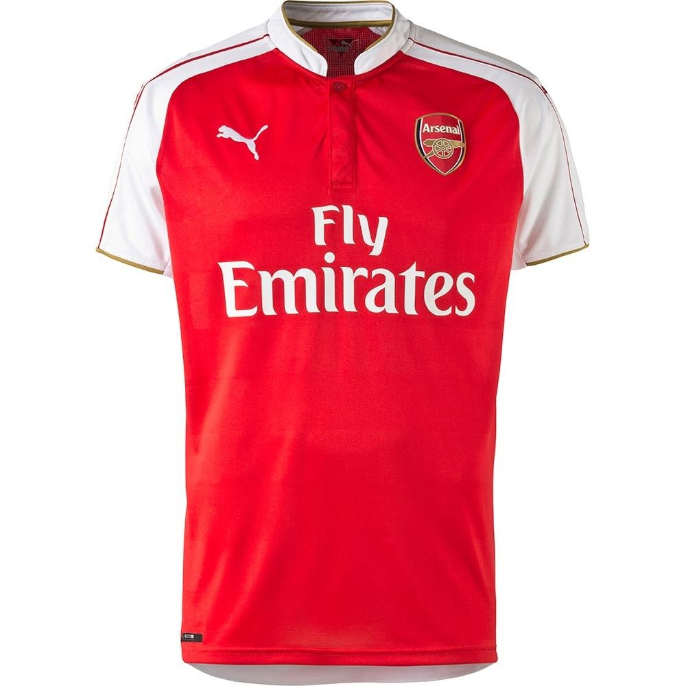 buy popular d0e15 cb69f Puma Youth Arsenal Home Jersey 15/16 | 2015-16 Club Kits ...