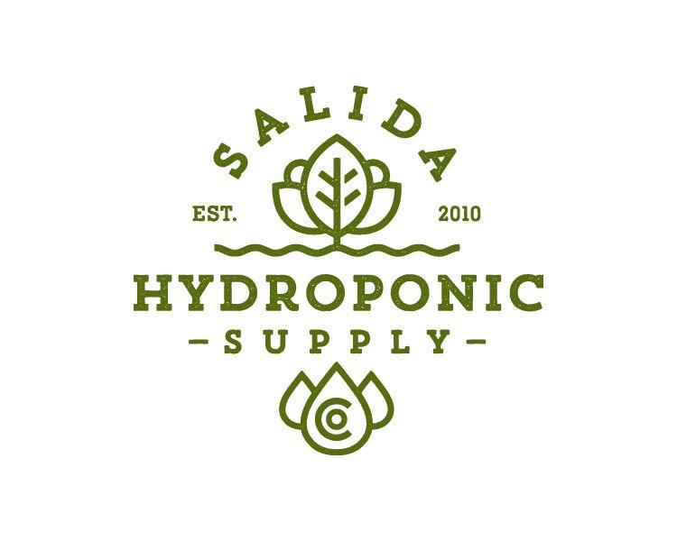 Salida Hydroponic Supply Logo Eco Logo Logos Design Simple