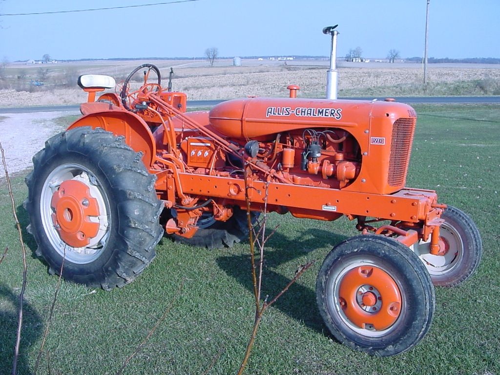 An Old Alliis Chalmers Tractor