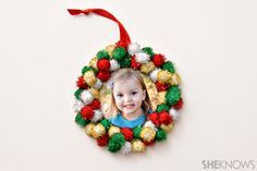 Photo Christmas ornaments kids can make This ornament  2 other ornaments                                                                                                                                                                                 More