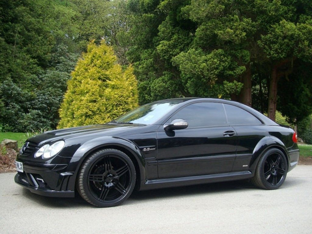 Mercedes clk to black series wide body kit mercedes for Mercedes benz clk black series body kit