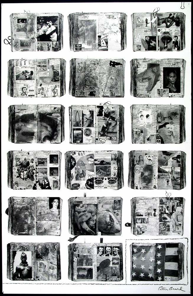 Peter Beard Diary Peter Beard Artsy Art Journal