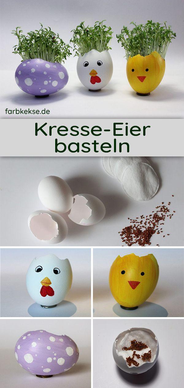DIY: Kresse Eier – Einfache und schnelle Osterdeko selbstgemacht