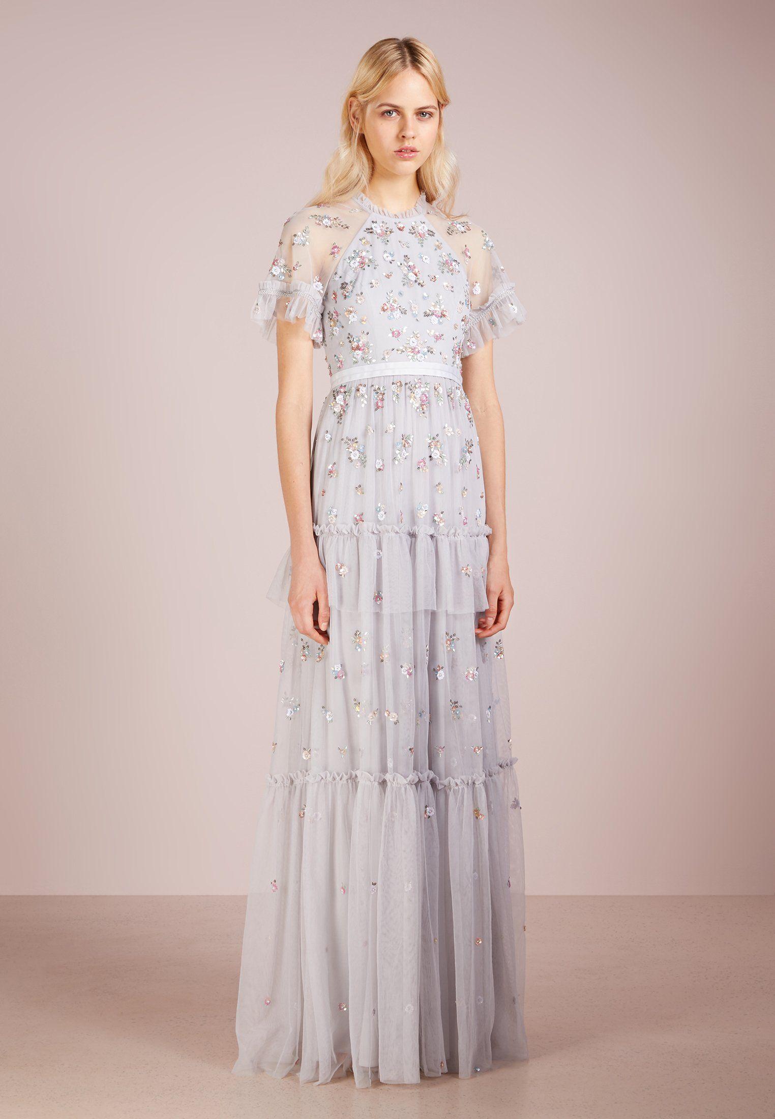 Abiti Da Cerimonia Vintage.Needle Thread Lustre Gown Abito Da Sera Vintage Blue