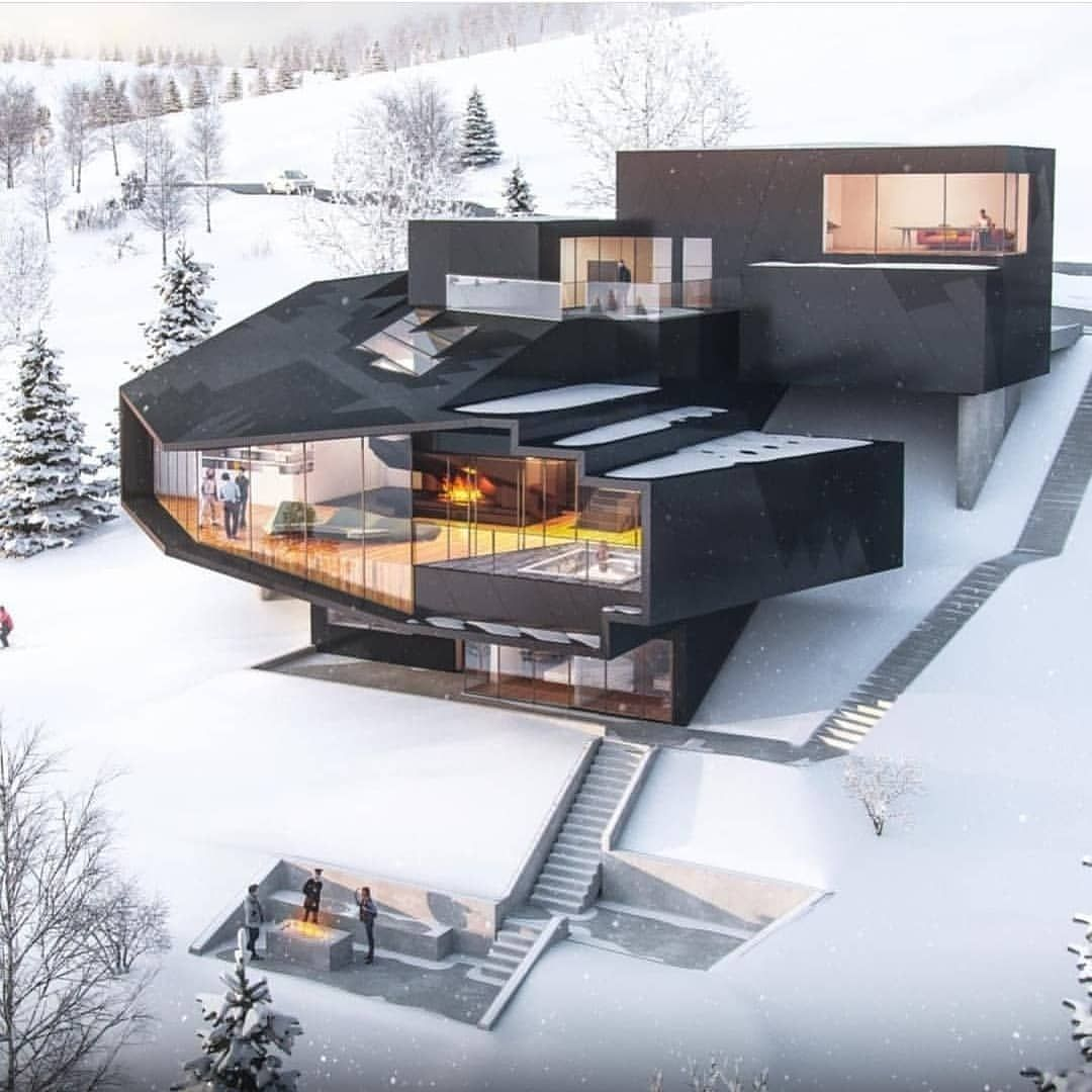 This modern house designs are all over the spectrum in terms of ...