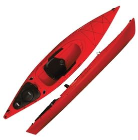 Field Stream Eagle Run 12 Fishing Kayak Adventuresome Kayaking