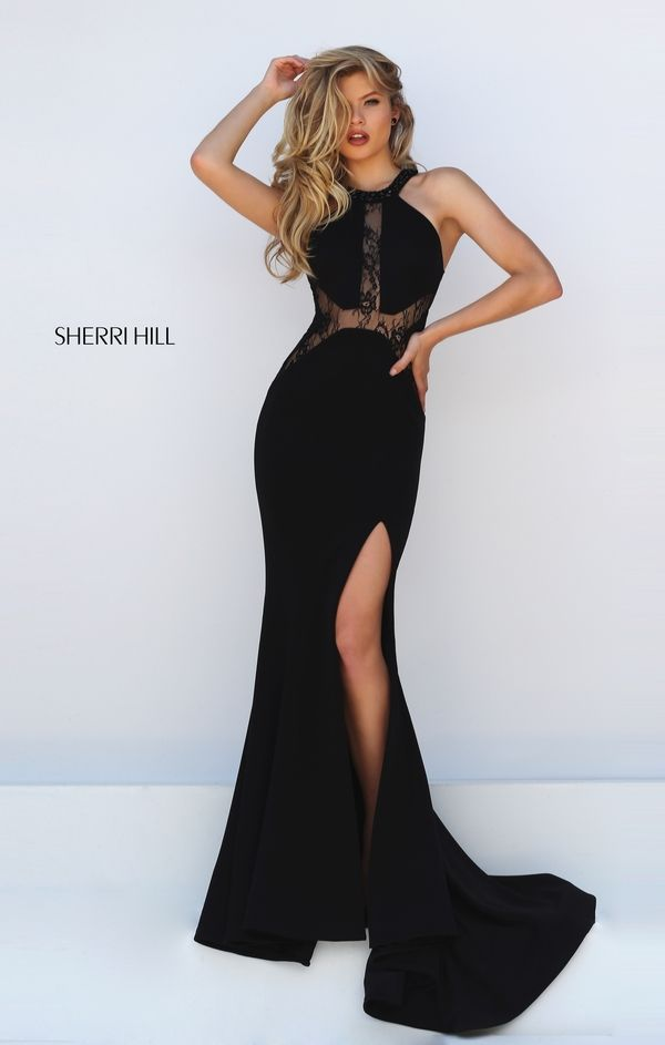 Sherri hill homecoming dresses black