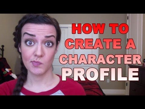 How to Create a Character Profile - YouTube YouTube Jenna - profile writing