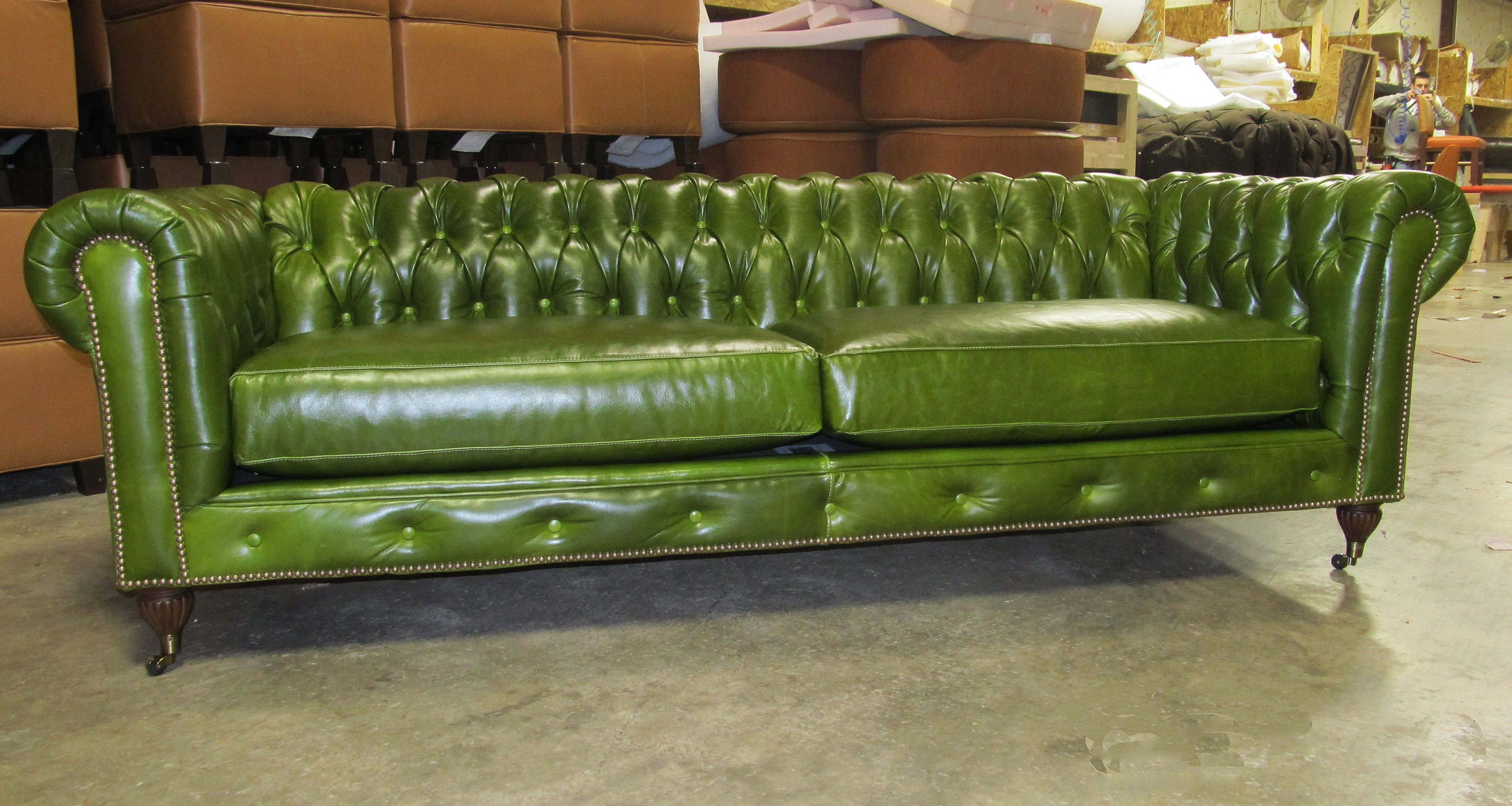 Swell Money Green Leather Sofa Deco Pinterest Green Leather Download Free Architecture Designs Scobabritishbridgeorg