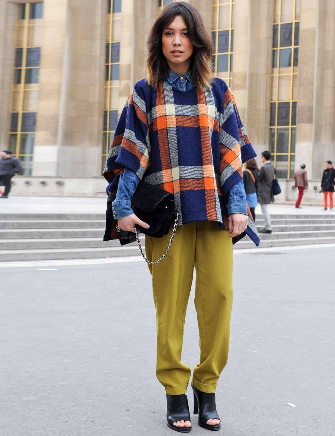 #streetstyle #style #streetfashion #fashion #poncho #cape