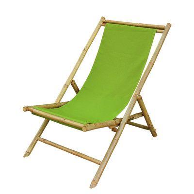 Bayou Breeze Atalya Reclining Folding Bamboo Relax Sling Beach Chair Wayfair Folding Beach Chair Beach Chairs Sling Chair