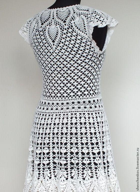 """Вязание ручной работы. Вяжем сами платье """"Натали ..."""