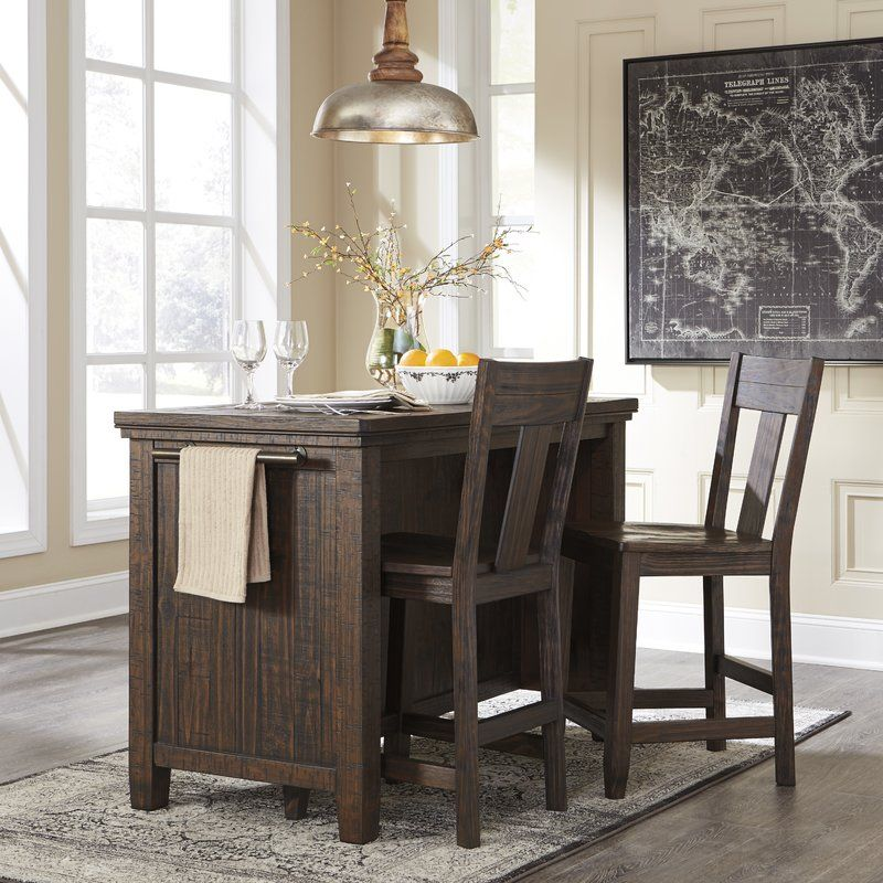 Love The Idea Of Multifunctional Furniture Packed With Potential This Dining Room Cou Counter Height Dining Room Tables Counter Table Dining Table In Kitchen