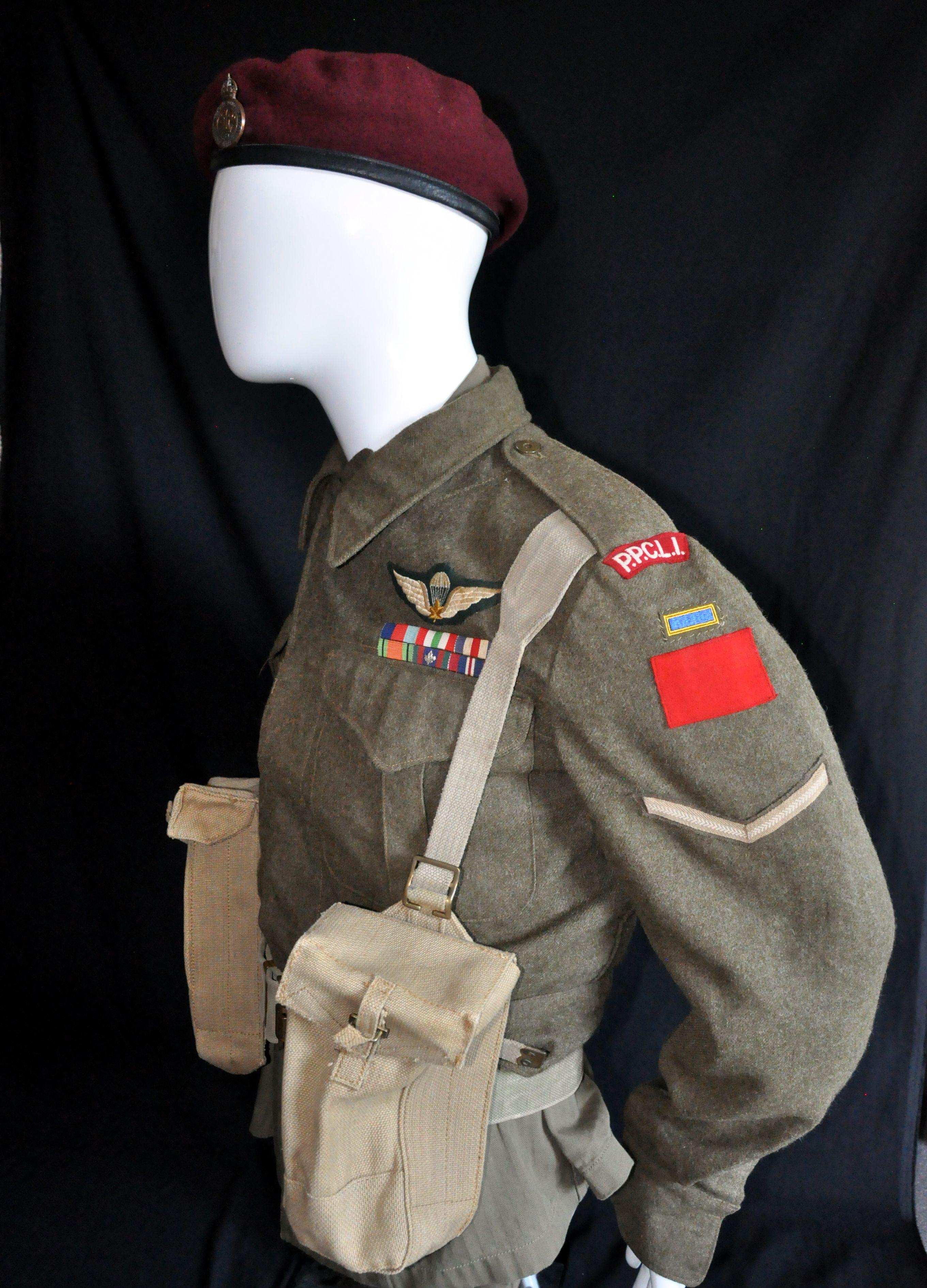 Canadian Korean War Infantry Uniform | Military Uniforms of