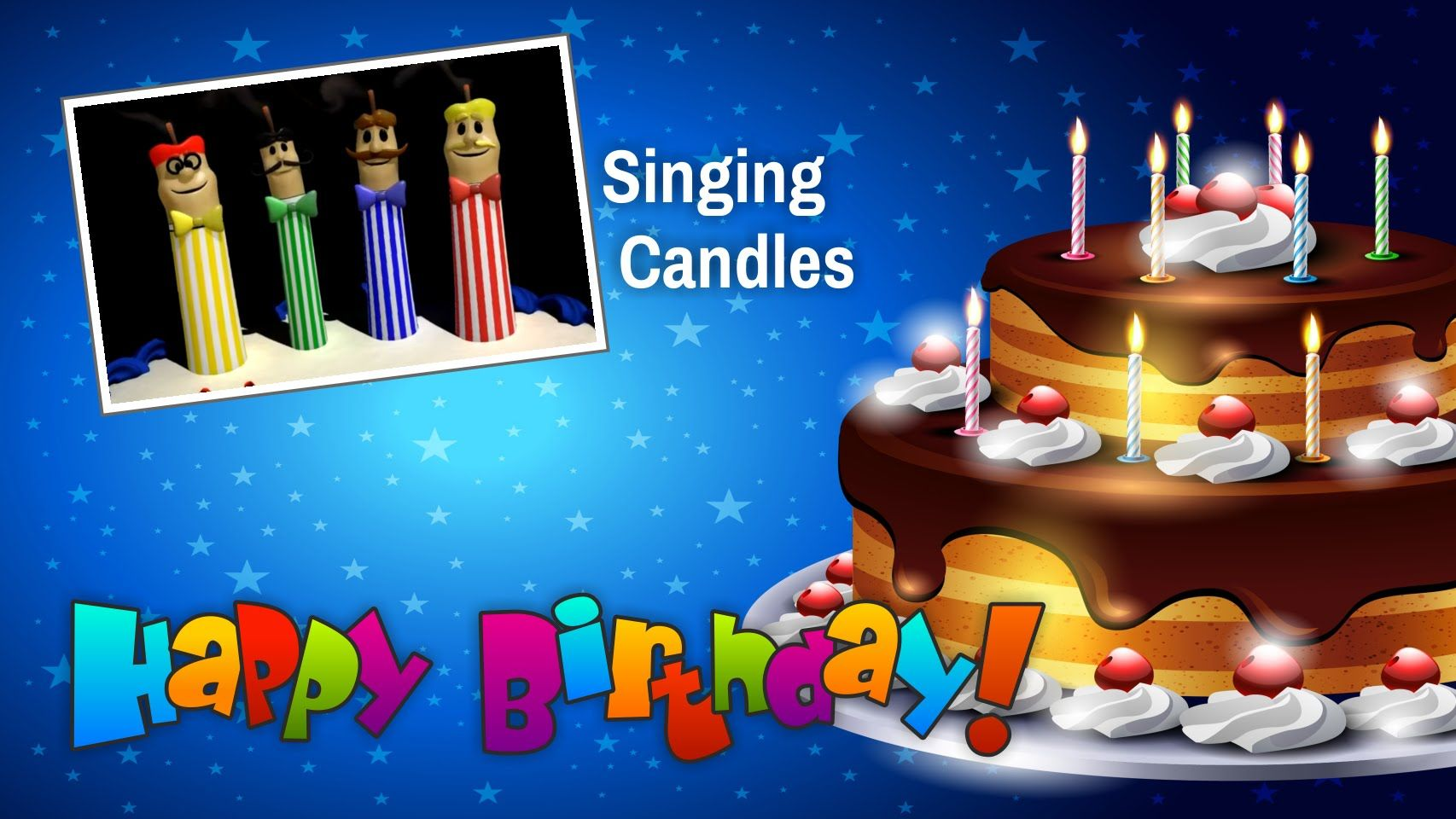 Happy Birthday Song From Singing Candles