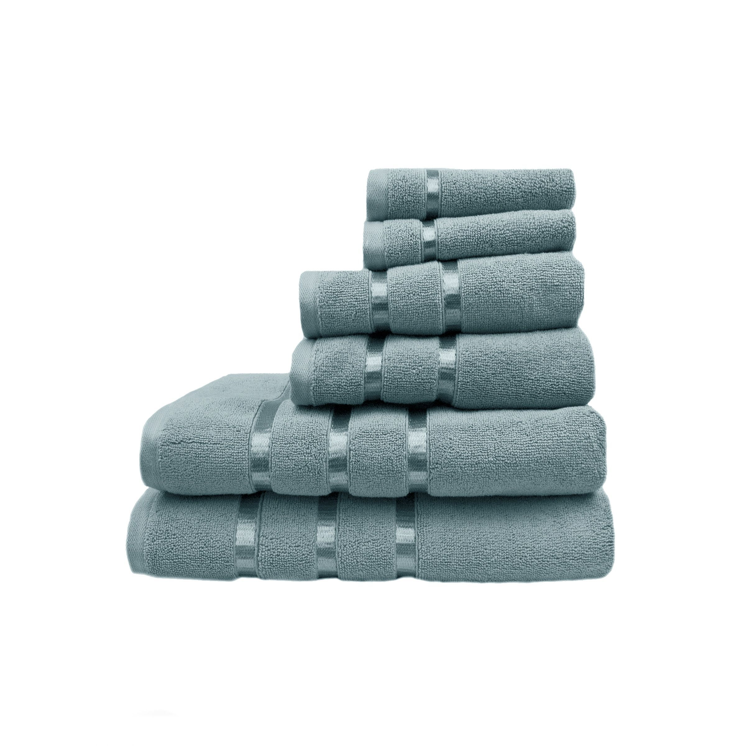 Austin Horn Classics Hotel Collection 6 Piece Towel Set Blue