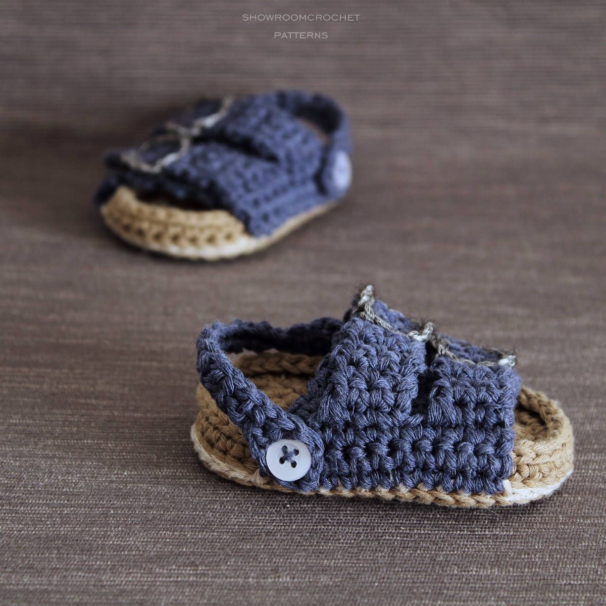 Crochet PATTERN.Baby sandals | Crochet patterns, Birkenstock