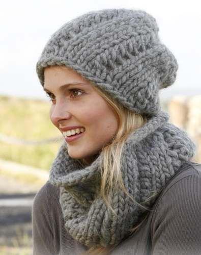 e096ce1d1 10 gorros tejidos a dos agujas para mujeres (5) | Proyectos a ...
