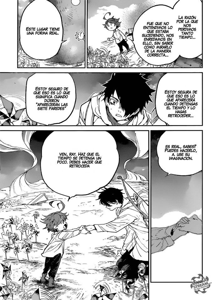 Manga The Promised Neverland Capitulo 137 En Espanol Online Leomangas Com Ler Manga Neverland Anime