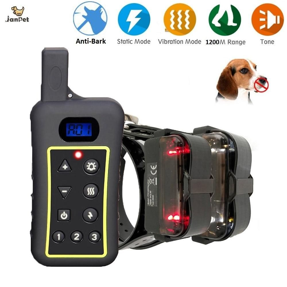 New Dog Training Collar Anti Bark Training Collar Dog Training