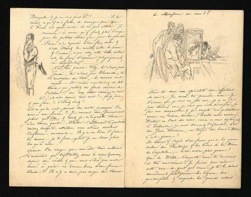 Musee Des Lettres Et Manuscrits Textes Pretextes