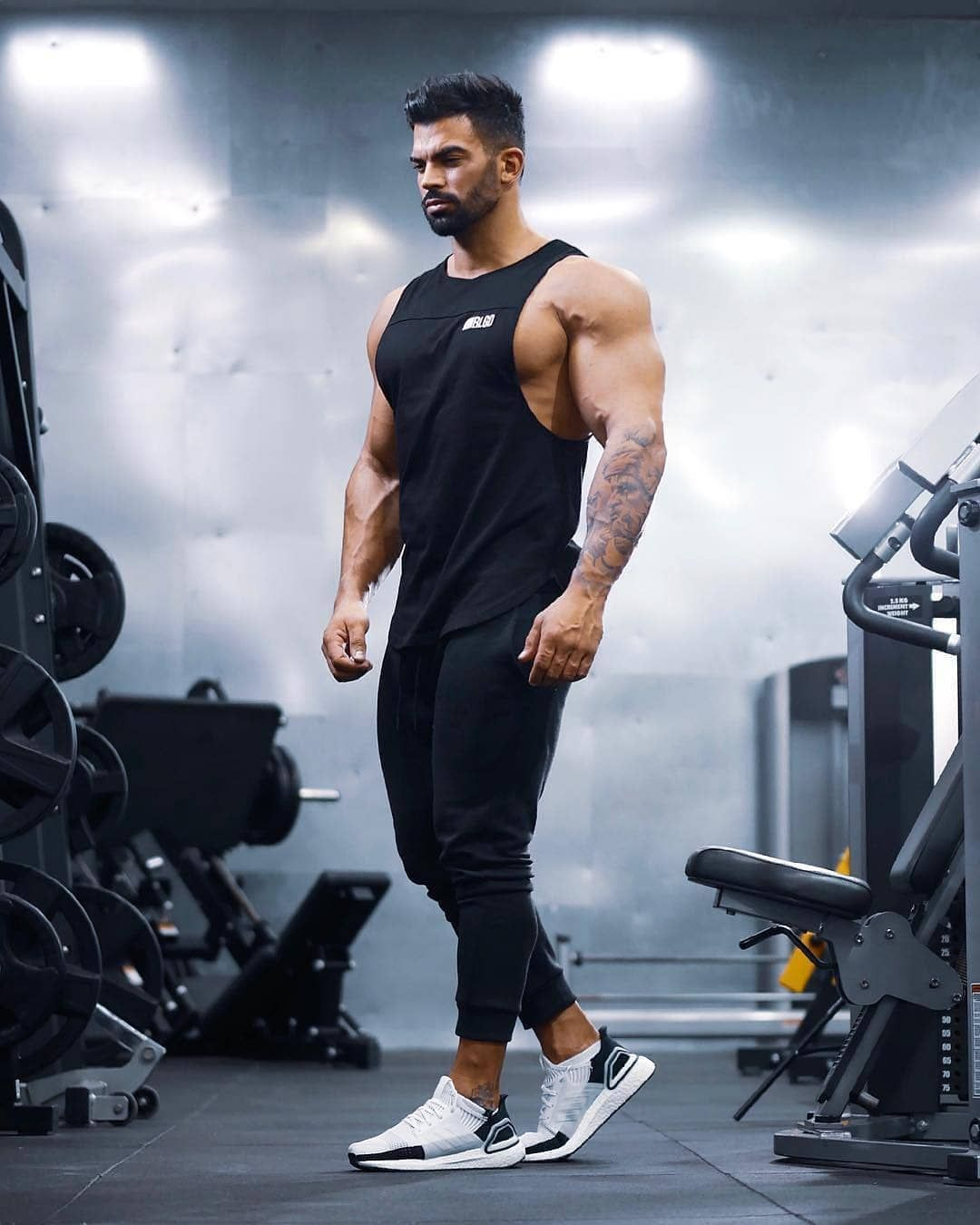 Workout 4 Gym Total Workout Swipe Left To All Exercise Follow Workout 4 Workout 4 Gym Total Workout Sw Total Workout Bodybuilding T Shirts Sporty Looks