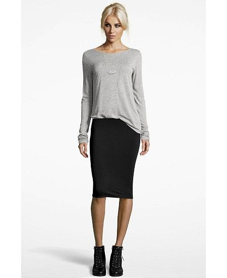 be41e3789e Pencil skirt outfits: Find your super slimming skirt match | Fashion ...