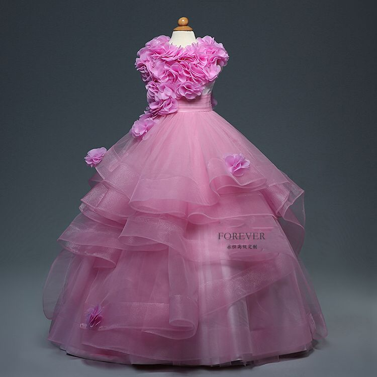 Gorgeous First Communion Dress Little Princess Tutu Tulle Ball Gowns ...