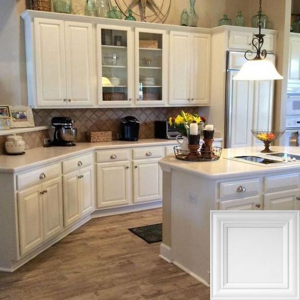 Kitchen Cabinets And Countertops Cost: White Kitchen Countertop Price #whitecabinets And