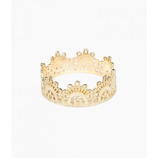 Lace 14-karat Gold Ring - 6 Grace Lee Designs Y5oF2