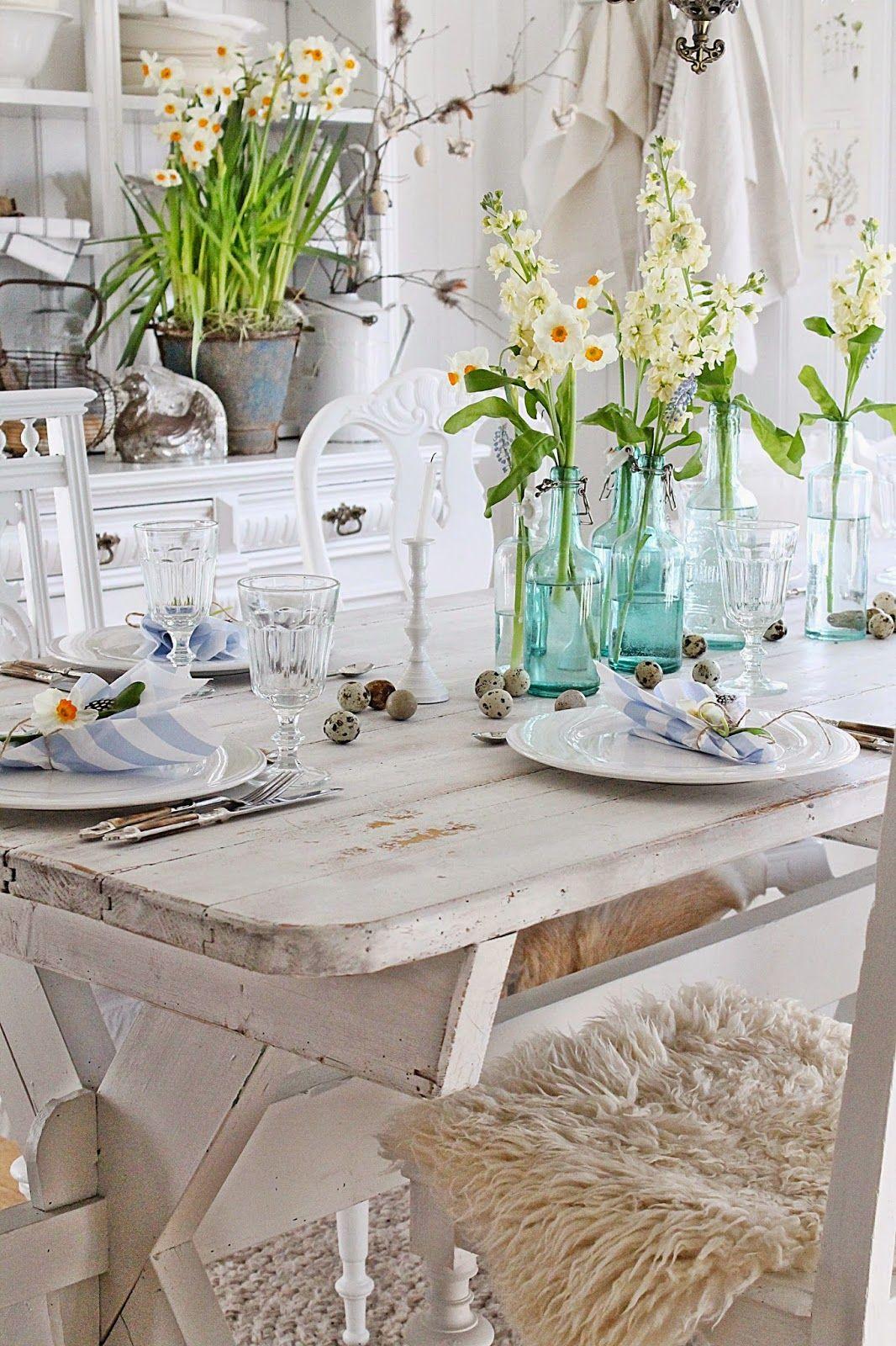 A Casa Di Babette vibeke design: dekk et vårlig bord ! | le festin de babette