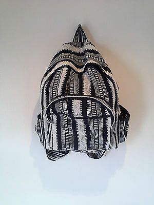 hippie gypsy rucksack #cotton tribe unisex backpack bag #handmade nepal #fairtra,  View more on the LINK: http://www.zeppy.io/product/gb/2/112090857736/