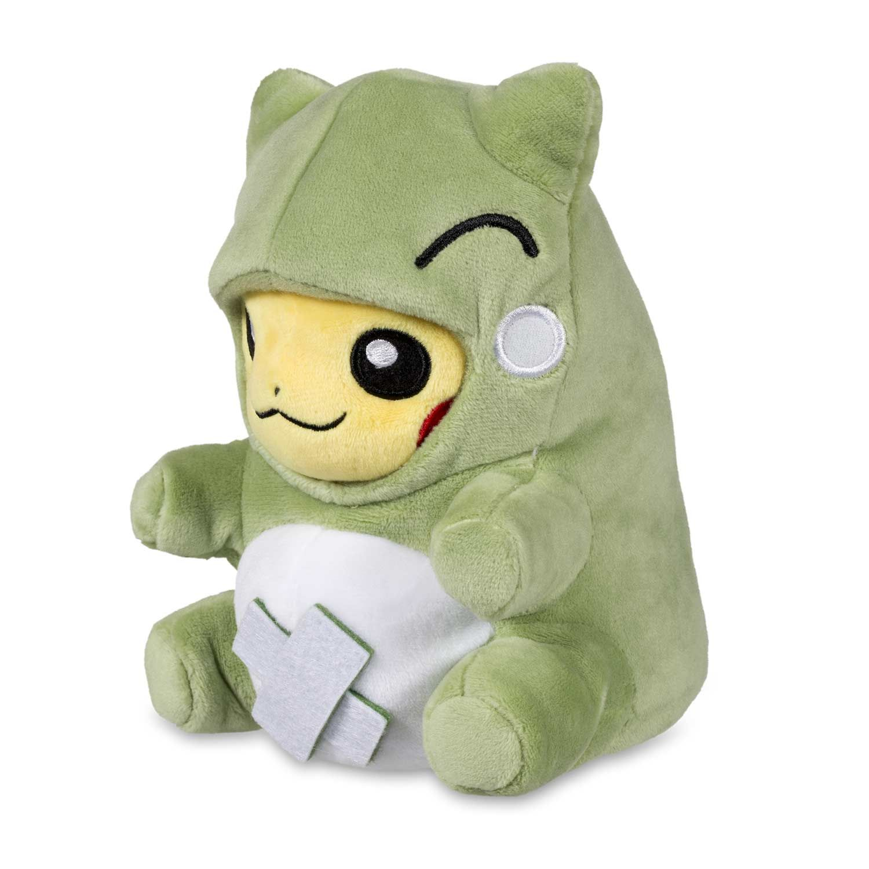 e2febcb7 Official Pokémon-Amie Substitute Pikachu Plush. Pikachu dressed up in  removable Substitute costume. A Pokémon Center Original design.