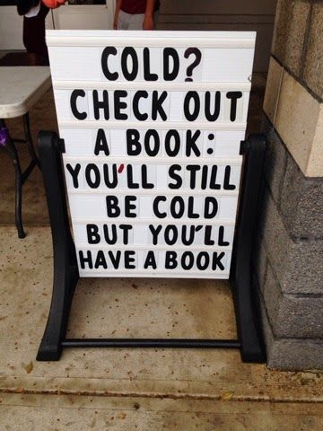 Book display ideas for january